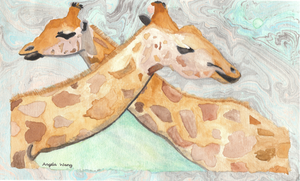 These Are Giraffes by Anjellyjoy