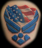 Air Force Tattoo by joshing88