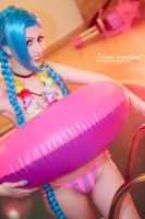 Jinx Pool Party by adami-langley