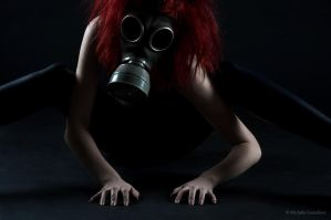 Gasmask photosession 3 by Sierau