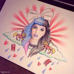 Melanie Martinez Carousel Drawing by Danikas-Art26