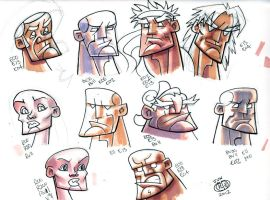 Sketch Card Practice by Chad73