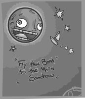 Fly this boat to the Moon by Meatball-man