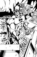 Batman 01 Ink by battlereaper