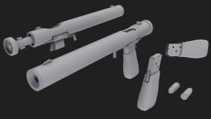 Welrod Mark IIA (No Textures) by Nirwrath