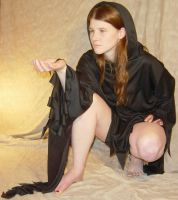 Jodi Black Cloaked Druidess 3 by FantasyStock
