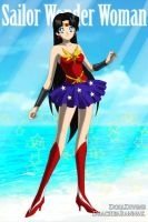 +Justice Scouts+ Sailor Wonder Woman by phoenixtsukino