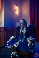 suigintou cosplay photoshoot by @fanored by FanoRED