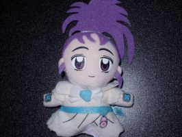 Cure Egret Finger Puppet by KittyChanBB
