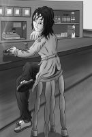 At the Bar by xchainlinkx