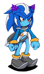 Core the Seedrian (Metal Sonic) by Cylent-Nite