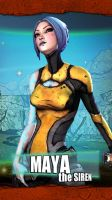Borderlands2 Iphone Skin - Maya - by MentalMars by mentalmars