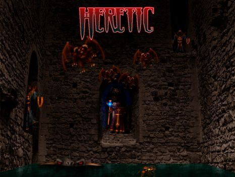 heretic wallpaper by niconosave