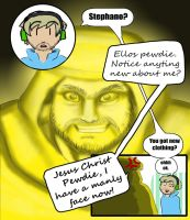 Stephano's Manly face by marltonder