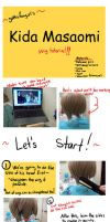 DRRR Kida- Wig Tutorial by yellow-cake