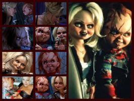 Bride of Chucky Collage by sonicshadowlover13