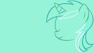 Minimalistic Lyra Wallpaper by MrFugums