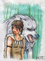 Princess Mononoke by Kagoe