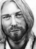 Kurt Cobain by Mannaz11