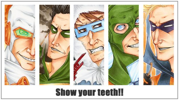 SHOW YOUR TEETH by mlang