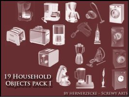 Household Objects Pack 1 by hernerzecke