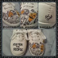 Foster the People Shoes by nacho36
