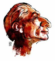 Charlie Watts - Profile Sketch by wooden-horse