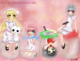 -4 Bottles of Cute- by Lolita-La-Lapin