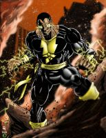 black adam by KYLE-CHANEY