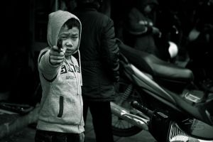 Boy With A Gun by phlezk