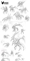 Sketchdump - 12/03/2014 (SCP 372) by Kanoro-Studio