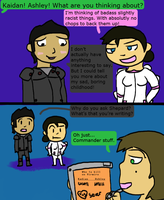 Kaidan and Ashley: The Choice by Pup-The-Derp