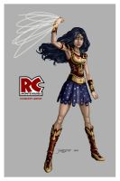 Wonder Woman Redesign by RC-draws