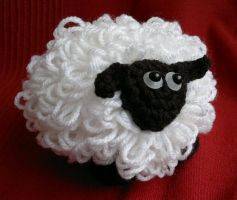 Shirley Sheep Crochet / Amigurumi by RuthNorbury