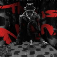 Rorschach plays chess by daimwn