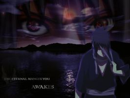 sasuke: eternal mangekyou by germanyangel