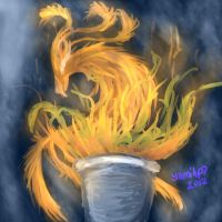 London Olympics 2012 The Flame by yamihp7