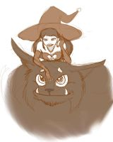 Witch WIP by Callmechrist