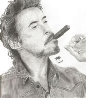 Robert Downey Jr by Cola-Addicted