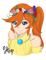 Athena - Flower Crown by tendercuddles