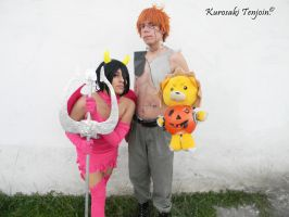 Halloween IchiRuki Cosplay by KurosakiTenjoin
