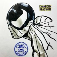 ChamBOOK Headshot - Phoenix Spider by theCHAMBA
