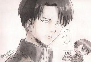 Levi ~25/12 Happy Birthday!!~ by iBluePanda
