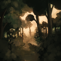Forest by Miamelly