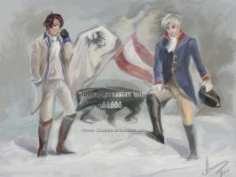Hetalia: AustriaXPrussia by Moon-illusion