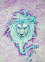 Water Lion by Tablis