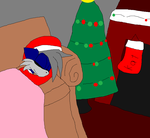 Lil Kat's Wait-X3 Christmas 2014 theme- by RoninHunt0987