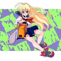 Chainsaw girl by hrk48
