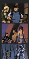 MK: Defenders of the Realm Redraw Meme by peannlui