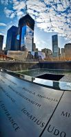 The World Trade Centre Memorial by AlanSmithers